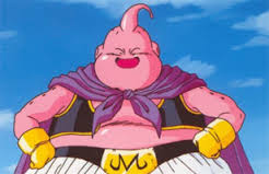 A Happy Birthday Buu Give Pan Gifts Saying That He Spits Out Pink Blob Everyone Present Is Disgusted Looking At
